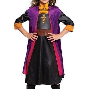 Disney's Frozen 2 Anna Dress Up Costume M 7-8
